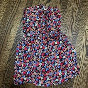 Floral Tube Top Dress
